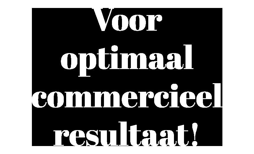 Optimaal commercieel resultaat